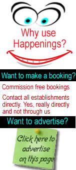 Advertise on Happenings Websites, countrywide