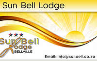 Bellville accommodation at Sun Belll Lodge,