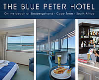 The Blue Peter Hotel in Bloubergstrand