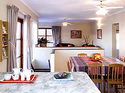 Albatross House in Jeffreys Bay offers 3 star fully equipped for self catering