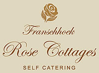 Rose Cottage self satering Franschhoek Caape Town South Africa