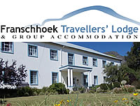 Franschhoek Travellers Lodge backpackers dormitories in Franschhoek