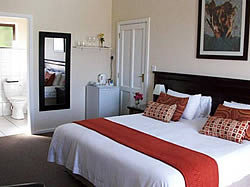 Amber Guest Lodge has exceptionally airy, spacious suites