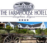 The Farmhouse Hotel in Langebaan