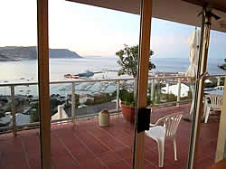Accommodation at El Mirador is self-catering luxury