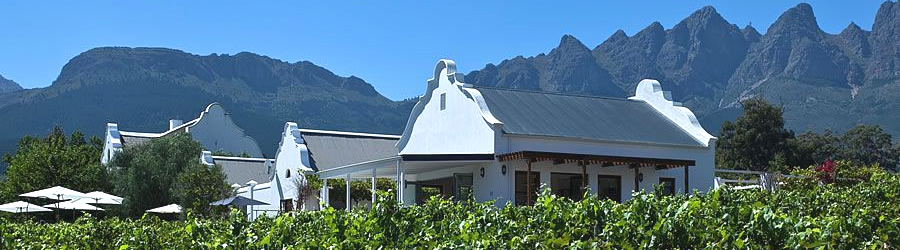 Exclusive Four Star Guest House and Self Catering Accommodation in the Heart of the Cape Winelands
