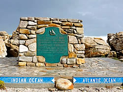 Cape Agulhas is the southernmost point in the continent of Africa.