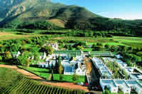Wineries in greater simonsberg